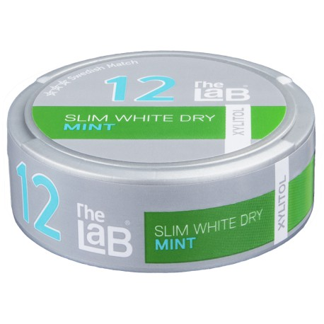 The Lab 12 Mint Slim White Dry Strong