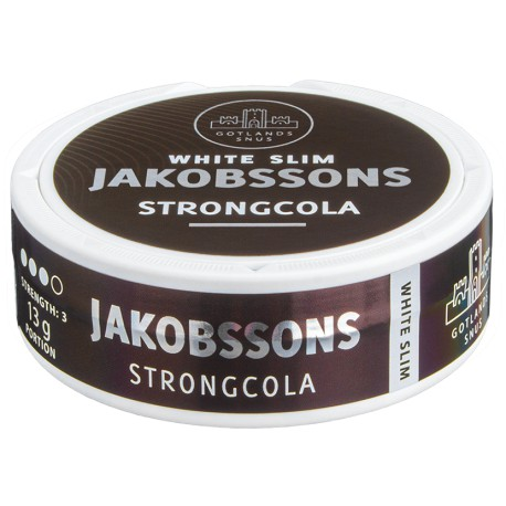 Jakobsson´s Strong Cola Slim White Portion