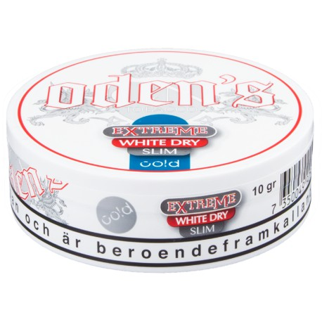 Oden's Extreme Slim Cold White Dry