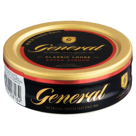 General Classic Loose Extra Strong Snus