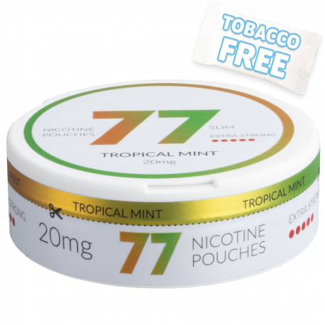 77 Tropical Mint Extra Strong Slim