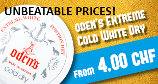 Oden's Extreme Cold White Dry from CHF 3,49!